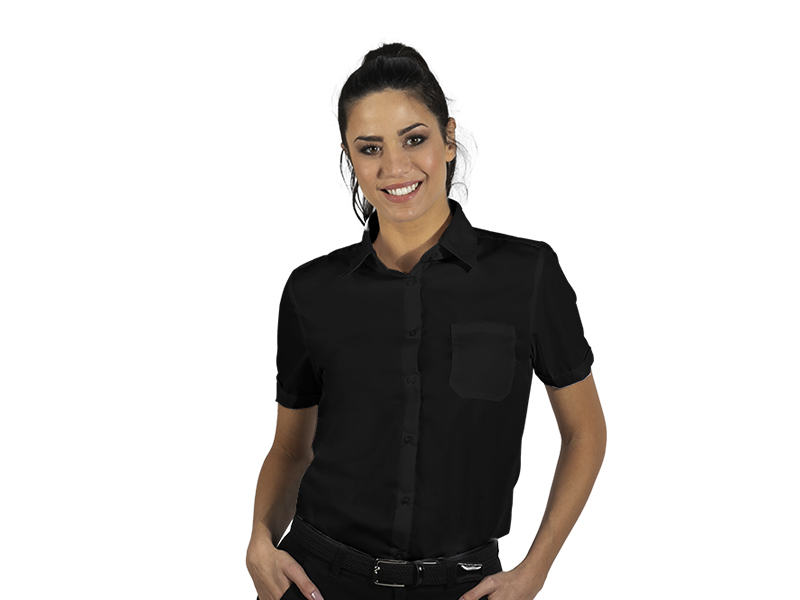 Women's short sleeve shirt, classic adjusted fit